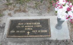 Roy J. Whitaker
