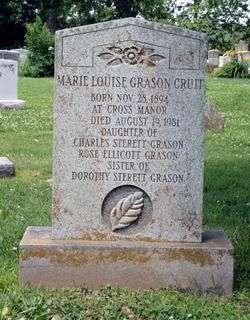 Marie Louise <I>Grason</I> Cruit
