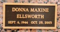 Donna Maxine <I>Bruton</I> Ellsworth
