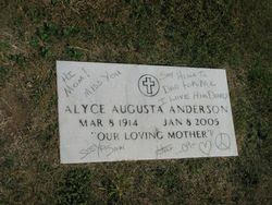 Alyce Augusta <I>Buysse</I> Anderson