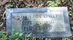 Nancy Penelope <I>Fox</I> Kinley