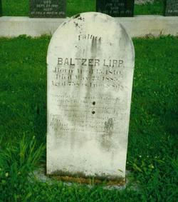 """Balthasar """"Baltzer"""" Lipp"""