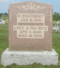 Lucy Ann <I>Brown</I> Boatright