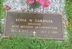 Lona Lester <I>Whitehead</I> Gardner