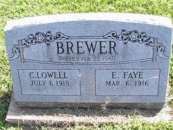 Evelyn Faye <I>Hensley</I> Brewer