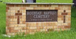 Rothsay Baptist Cemetery