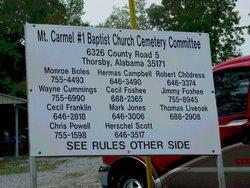 Mount Carmel Baptist Church Cemetery #1