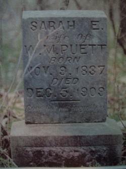 Sarah Esther <I>Boone</I> Puett