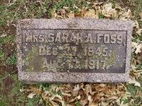 Sarah Ann <I>Nelson</I> Foss