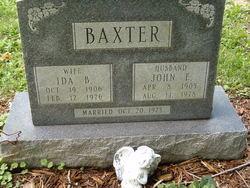 Ida B Baxter