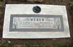 Norma Idell <I>Plager</I> Weber