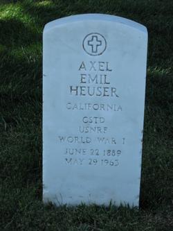 Axel Emil Heuser