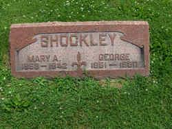 Mary A. <I>Smith</I> Shockley
