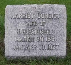 Harriet <I>Condict</I> Fairchild