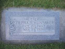 Zilpha Josephine <I>Simmons</I> Hunsaker