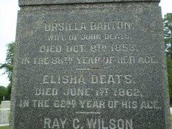 Ursilla <I>Barton</I> Deats