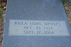 Rilla <I>Lowe</I> Brooks