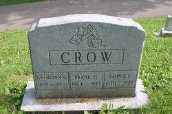 Fannie E Crow