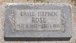 Ursel Stephen Rose
