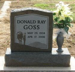 Donald Ray Goss
