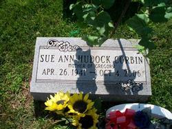Sue Ann <I>Hudock</I> Corbin