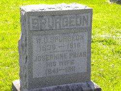 Josephine E <I>Prior</I> Spurgeon