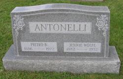 Jennie <I>Wolfe</I> Antonelli