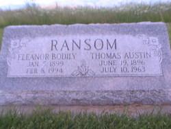 Eleanor Delila <I>Bodily</I> Ransom