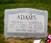 Othello Nellie <I>Day</I> Adams