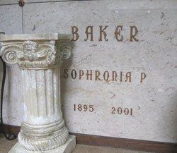 Sophronia P. Baker