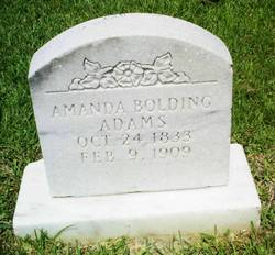 Amanda <I>Bolding</I> Adams