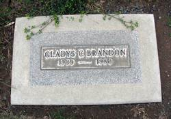 Gladys Clara <I>Brinkman</I> Brandon