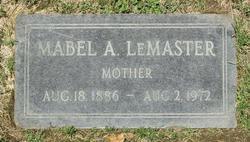 Mabel A Lemaster