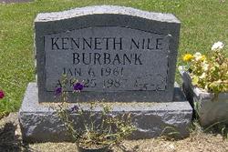 """Kenneth Niles """"Kenny"""" Burbank"""