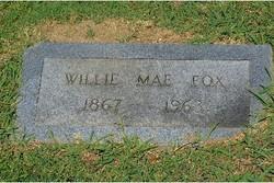 Willie Mae <I>Chilcoat</I> Fox