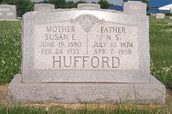 Susan Elizabeth <I>Moore</I> Hufford