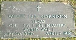 Willie Lee Garrison