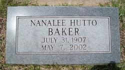 Nanalee <I>Hutto</I> Baker
