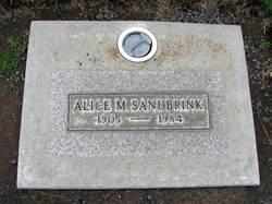 Alice Margaretha Sandbrink