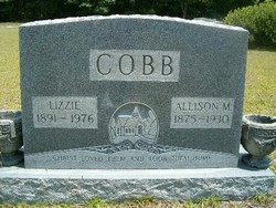Lizzie <I>King</I> Cobb