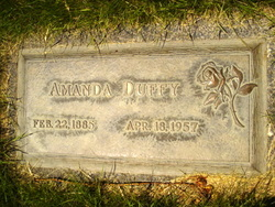 "Amanda ""Madge"" <I>Haggard</I> Duffy"