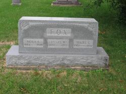 Hazel Golden <I>Toney</I> Fox