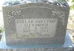Beulah Holcomb <I>Riggs</I> Alexander