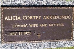 Alicia <I>Cortez</I> Arredondo