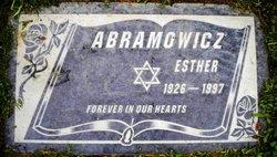 Esther Abramgwicz