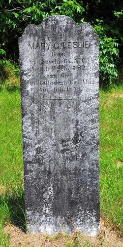 Mary C. <I>Gilliland</I> Leslie