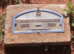 "Federick Masterson ""Fred"" Abernathy"