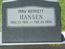 May <I>Bennett</I> Hansen