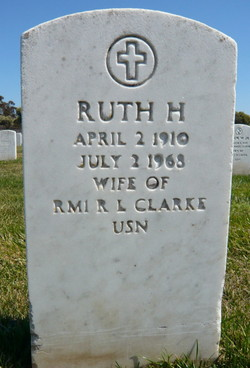 Ruth Hooper <I>Porter</I> Clarke