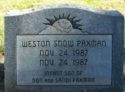 Weston Snow Paxman